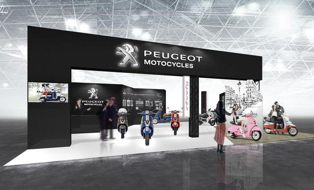 画像: 東京モーターサイクルショーでプジョーを感じてください! - LAWRENCE - Motorcycle x Cars + α = Your Life.