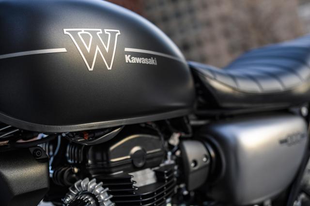 画像: 信じられない完成度! カワサキの新型『W800』