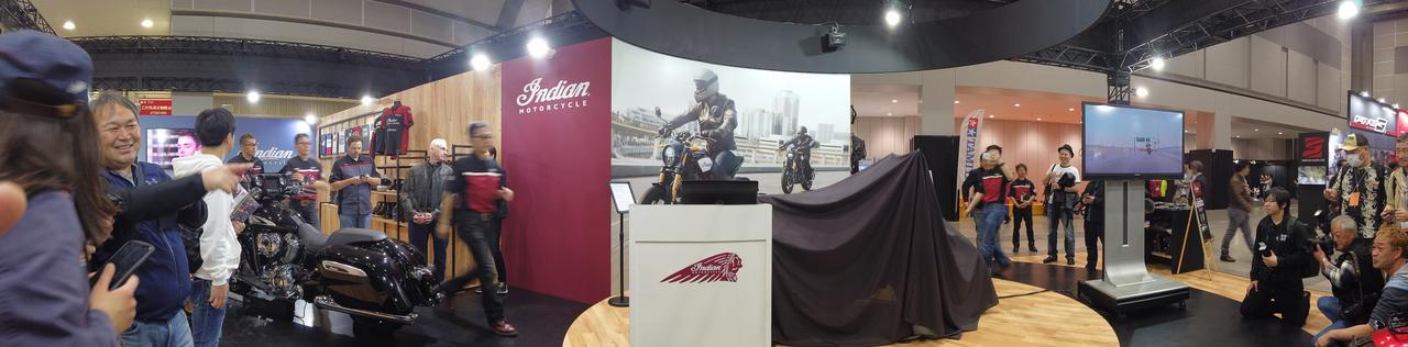 画像1: インディアンモーターサイクル、FTR™1200/FTR™1200Sを発表 @東京モーターサイクルショー2019