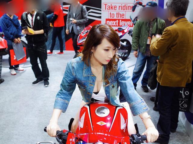 画像13: ミク様レポ☆「第46回 東京モーターサイクルショー」プレスデーに今年も潜入してきました♡
