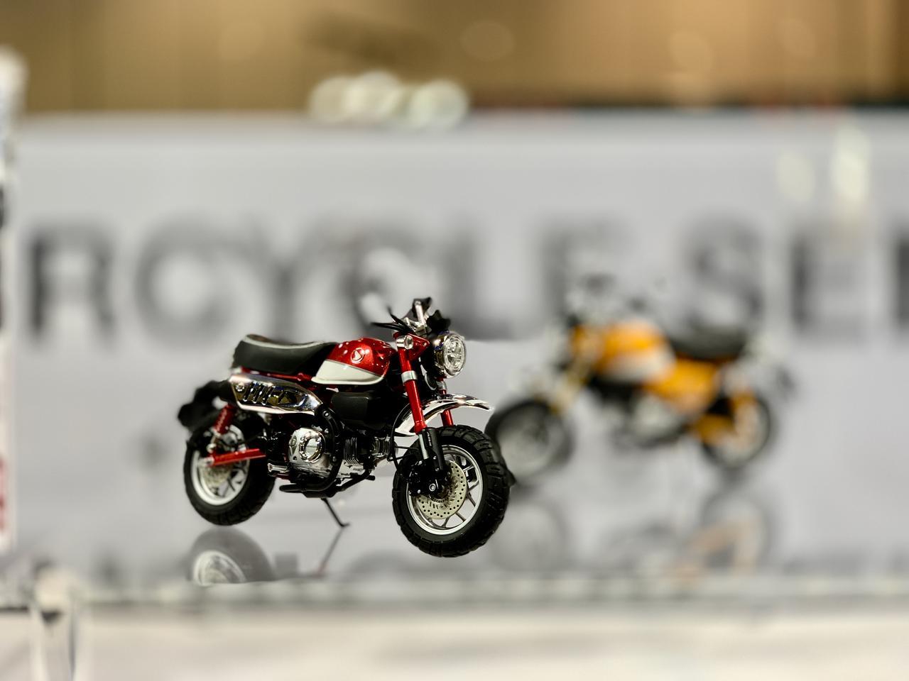 画像2: モンキー125も大人気だ@東京モーターサイクルショー2019