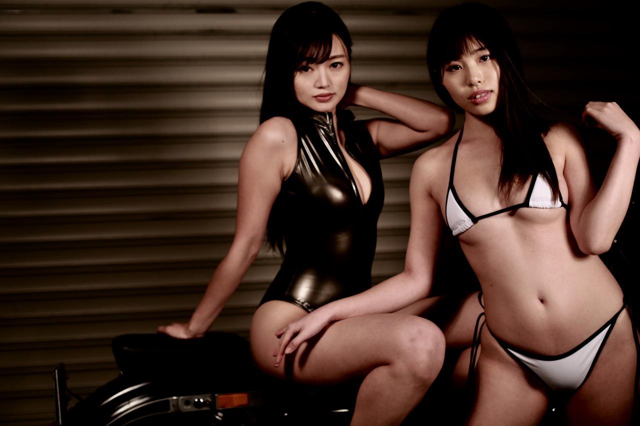 画像3: 【Beauty & Bike】紀香と汐那とスポーツスター vol.06