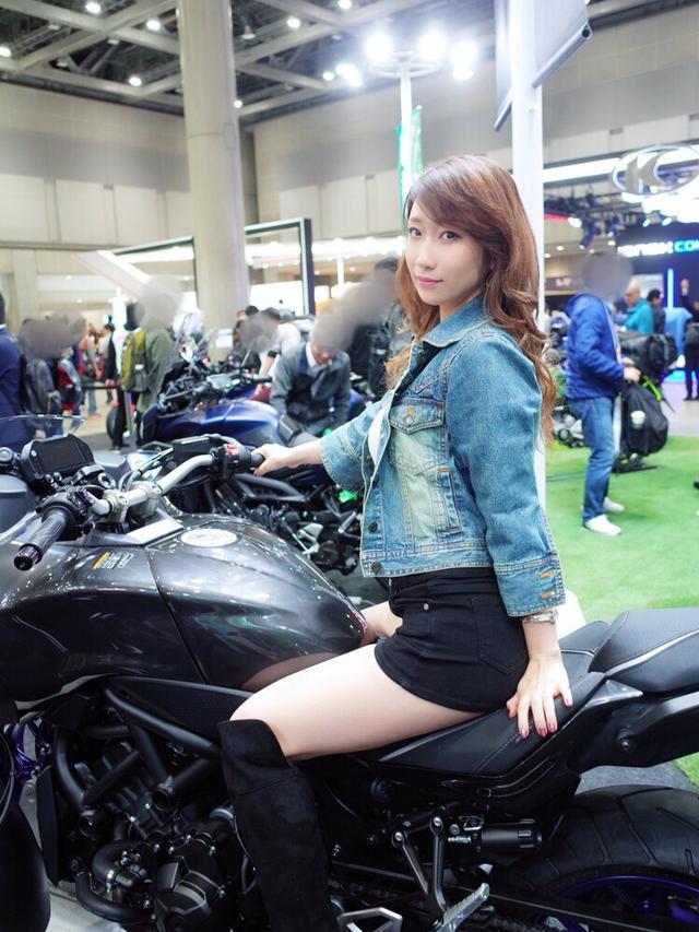 画像3: 「東京モーターサイクルショー2019」無事閉幕!未公開写真載せちゃいます♡【水曜日のミク様】
