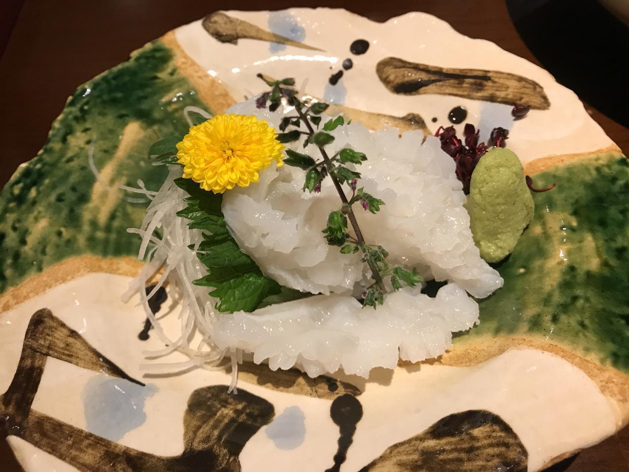 画像: 生タコ刺 ¥1280(税込)