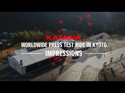 画像: KATANA Worldwide Press Launch   Press Ride Review youtu.be