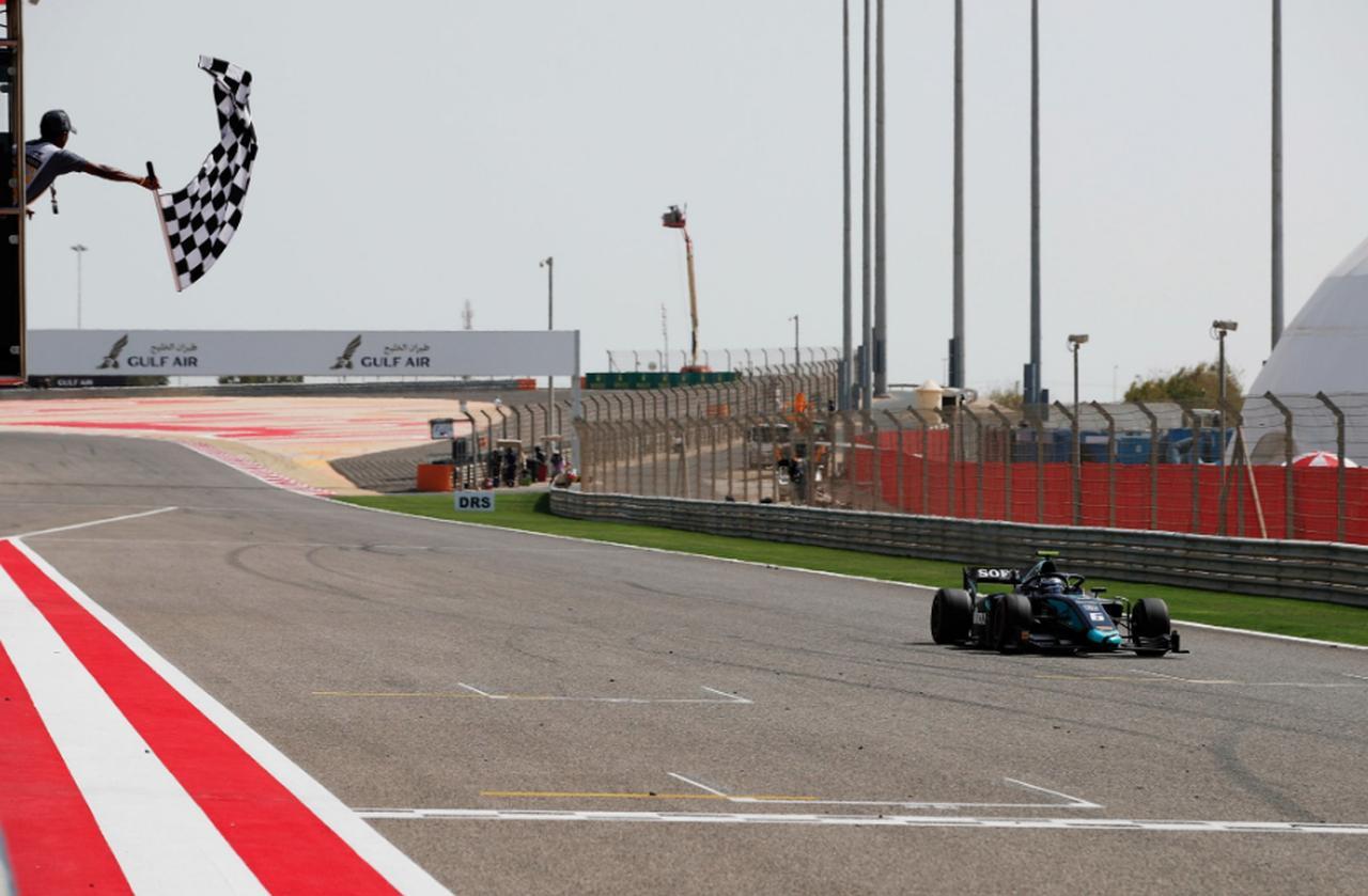 画像: 完璧なレースで初のレース1優勝は果たしたN.ラティフィ twitter.com