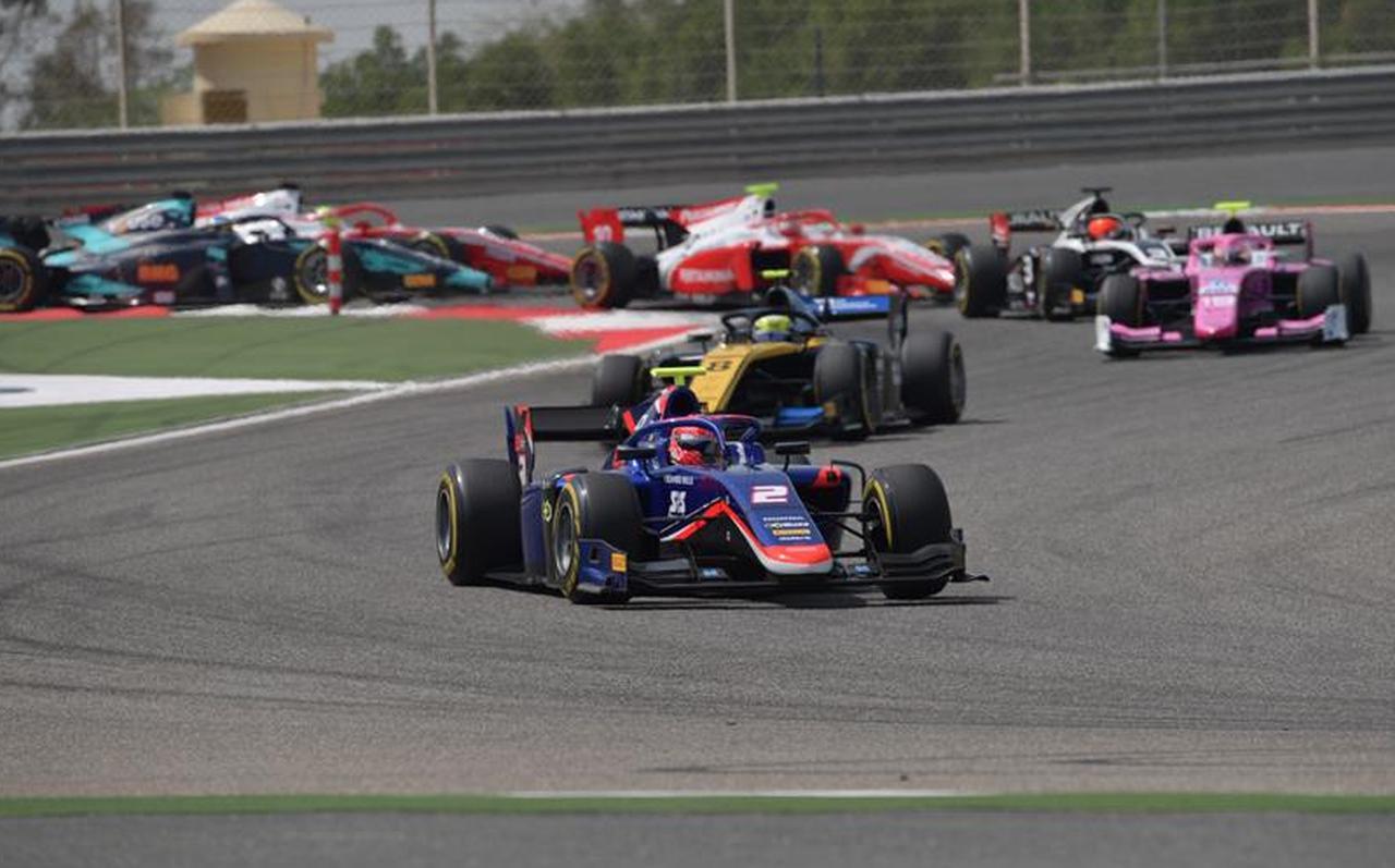 画像: タイヤマネージメントに苦しんだ松下。レース2での走りに期待だ! www.fiaformula2.com