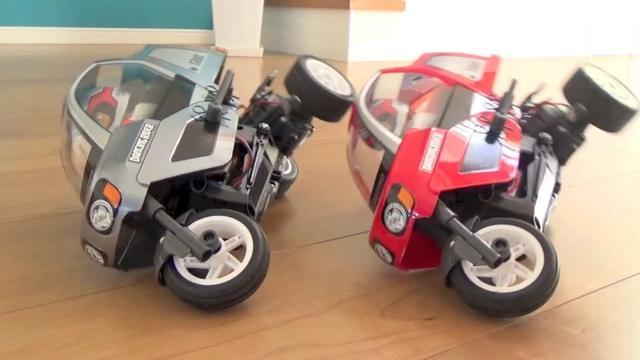 画像: TAMIYA 1/8 R/C Dancing Rider (T3-01) タミヤ ダンシングライダー youtu.be