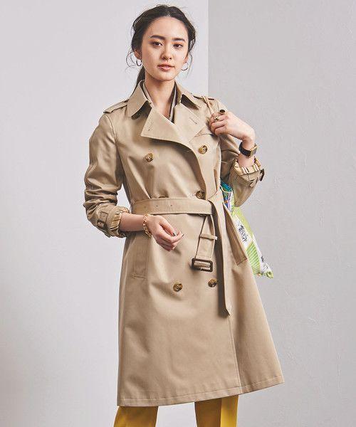 画像: UNITED ARROWS WOMEN UBCB ギャバ トレンチコート 19SS ¥51,840(税込) www.t-fashion.jp
