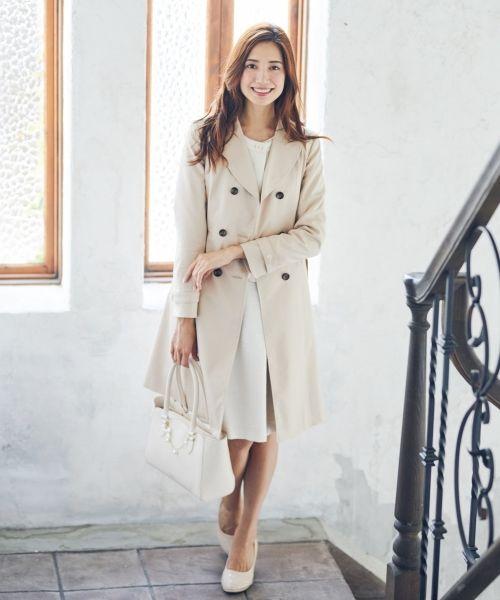 画像: Feroux レディフレアトレンチ コート ¥17,193(税込)※セール中での価格です www.t-fashion.jp