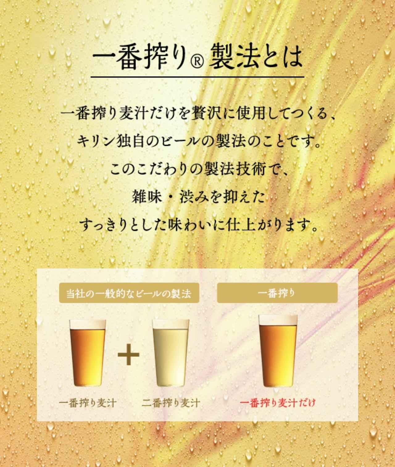 画像: KIRIN公式サイトより www.kirin.co.jp