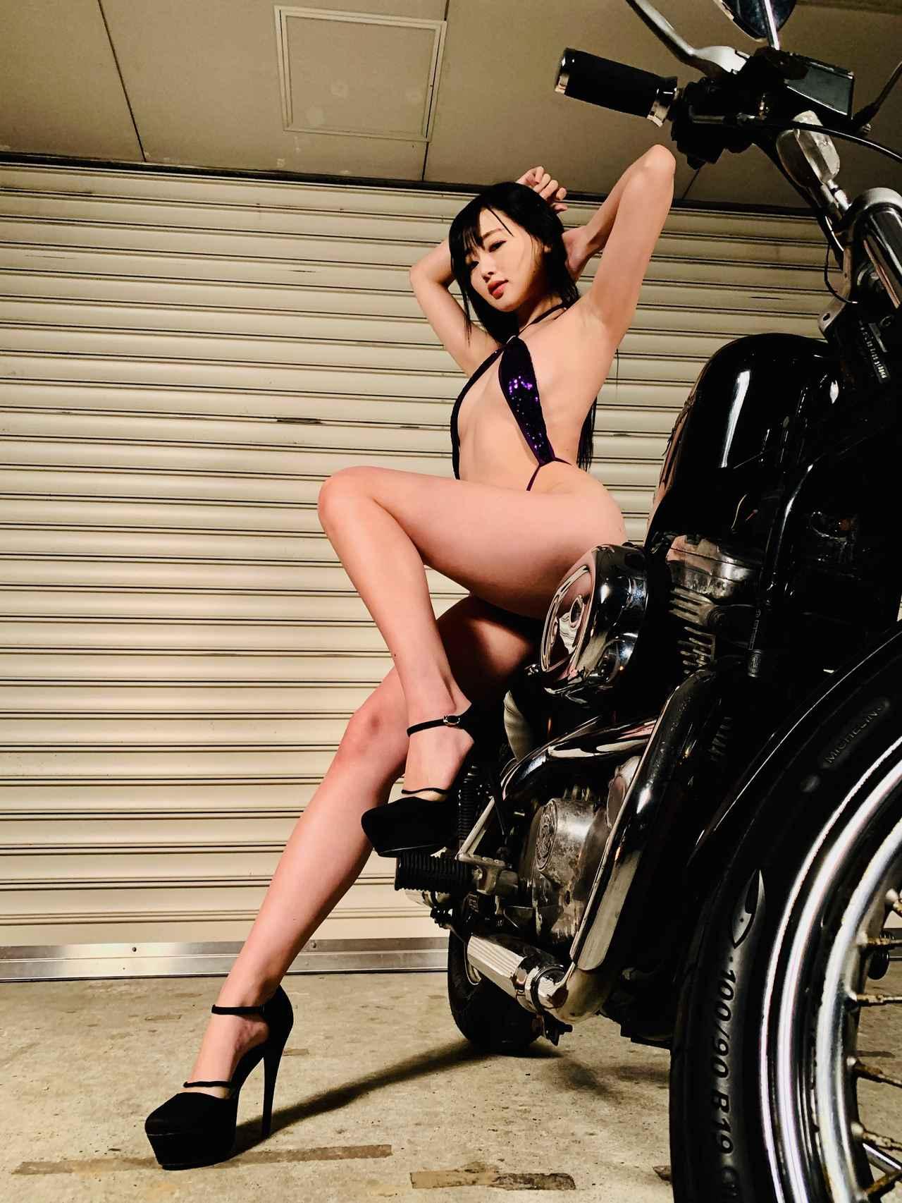 画像8: 【Beauty & Bike】紀香とスポーツスター vol.08