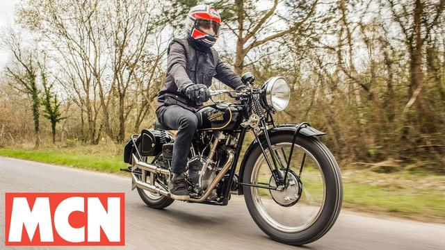 画像: Allen Millyard's home-made Velocette V-twin | MCN | Motorcyclenews.com youtu.be