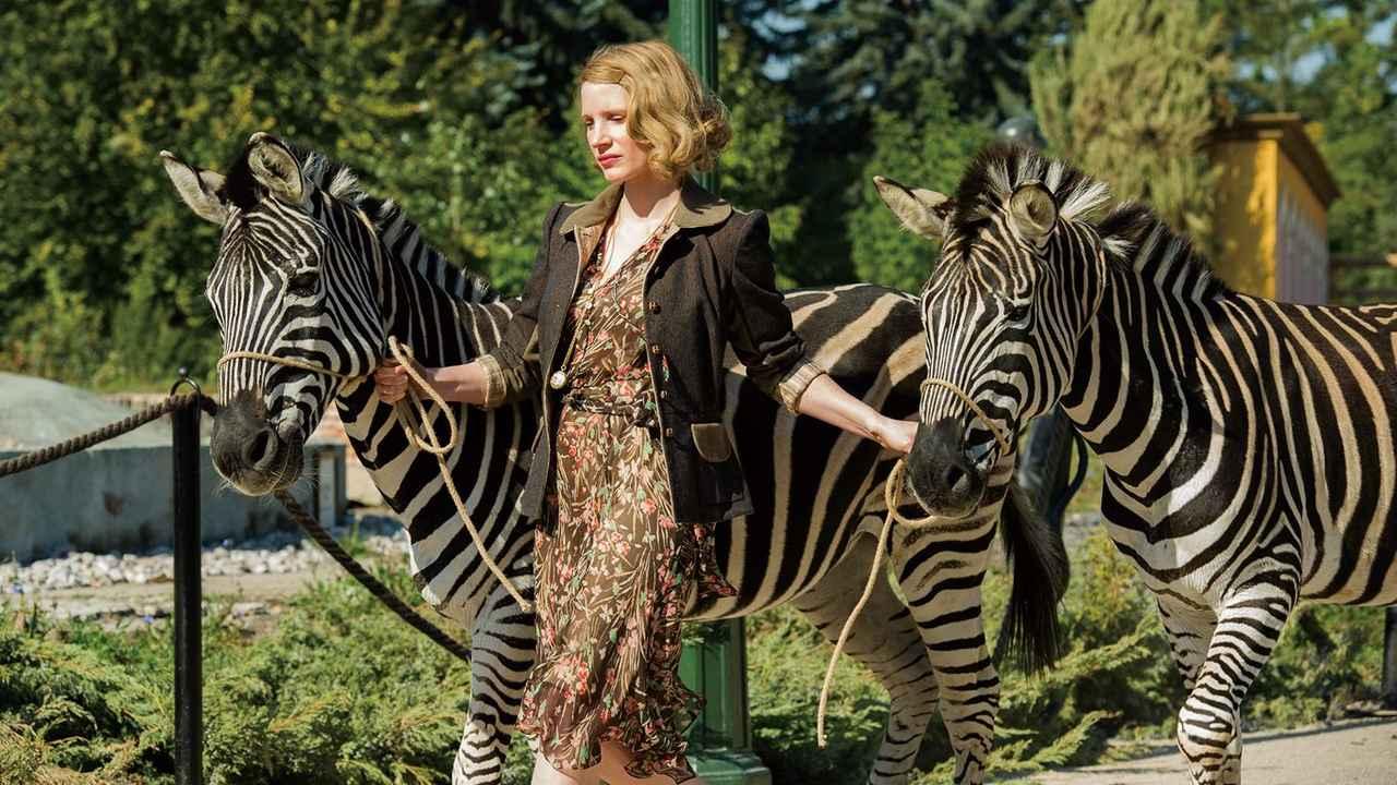 画像: 「ユダヤ人を救った動物園~アントニーナが愛した命~」の動画視聴・あらすじ   U-NEXT