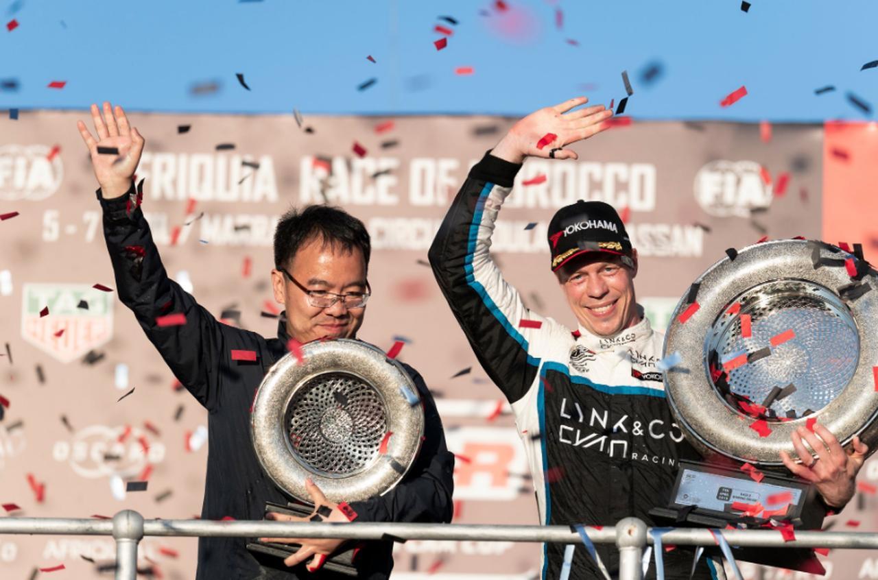 画像: T.ビョークが優勝しランキングトップに浮上。Lynk&CoにとってWTCR初優勝となった。 twitter.com