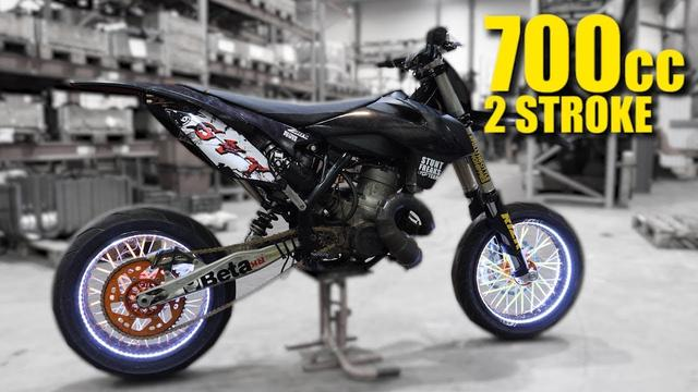 画像: 700cc 2 Stroke Supermoto youtu.be