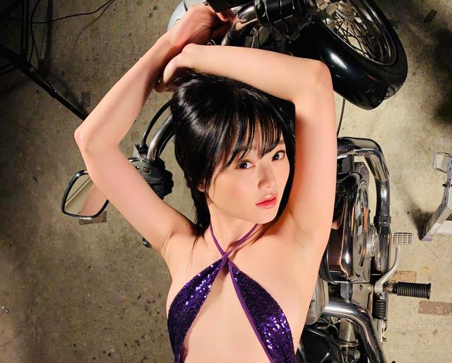 画像1: 【Beauty & Bike】紀香とスポーツスター vol.14