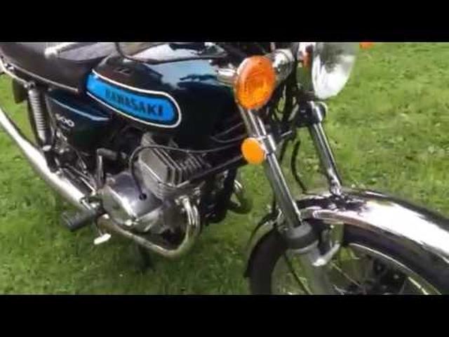 画像: Millyard Kawasaki 1974 500 Twin youtu.be