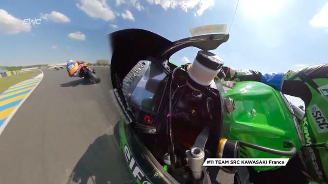 画像: チームSRCカワサキ フランスは、日本時間8:40AM現在、SERT(スズキ エンデュランス レーシング チーム)と首位争いを展開しています! www.youtube.com