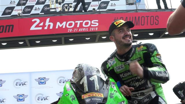 画像: 24 Heures Motos - The last minutes and the podium of an epic race youtu.be