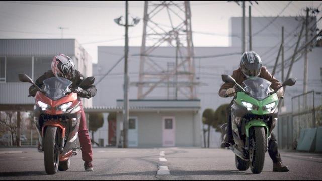画像: カワサキの新型Ninja250&400がドラッグレース対決!?ショートムービー公開。 - LAWRENCE - Motorcycle x Cars + α = Your Life.