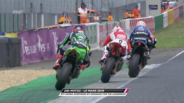 画像: Randy de Puniet takes the lead for Honda Endurance to 1 hour before the end youtu.be