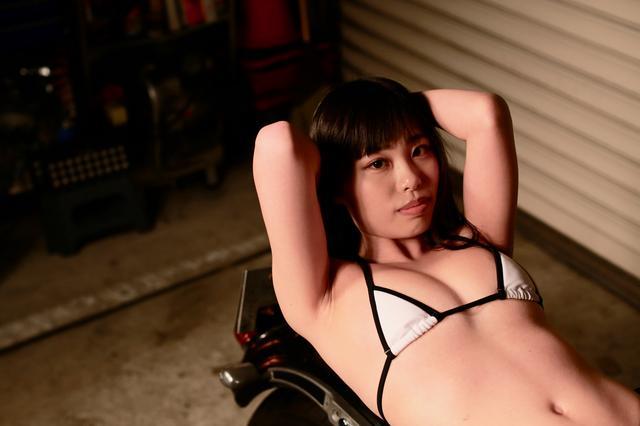 画像1: 【Beauty & Bike】汐那とスポーツスター vol.15