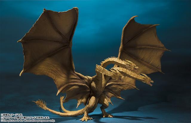 画像: S.H.MonsterArts キングギドラ(2019)   魂ウェブ