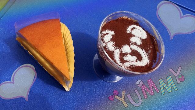 画像: ダンテのチーズケーキとプリンティラミス☆