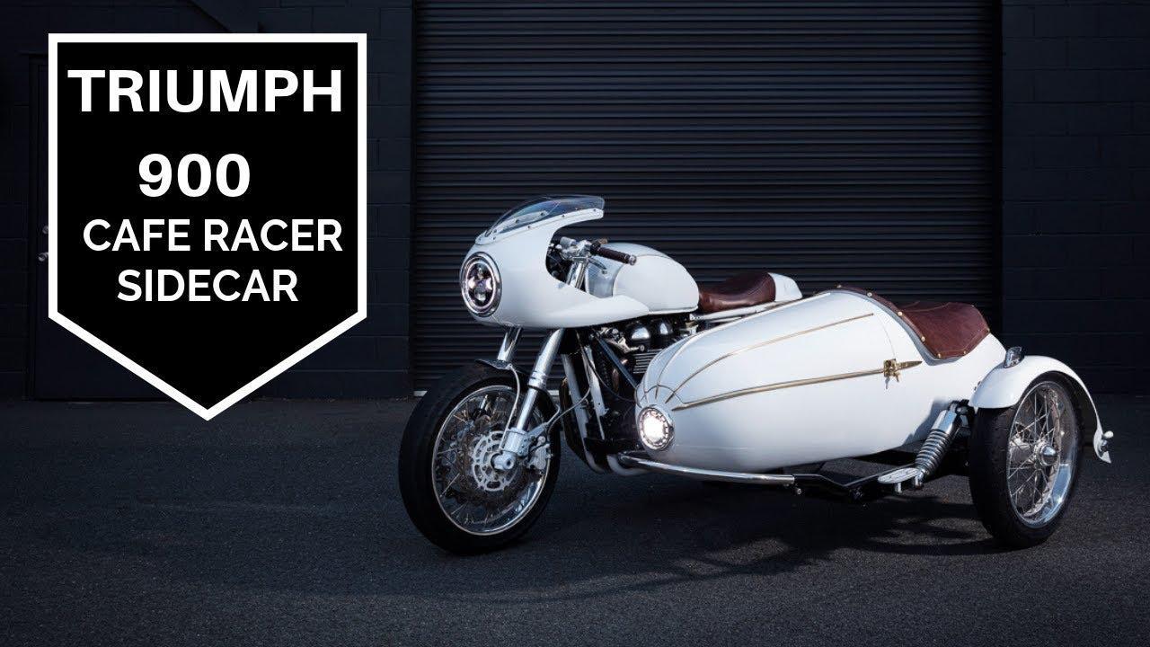 画像: Triumph Cafe Racer Sidecar - How to build it youtu.be