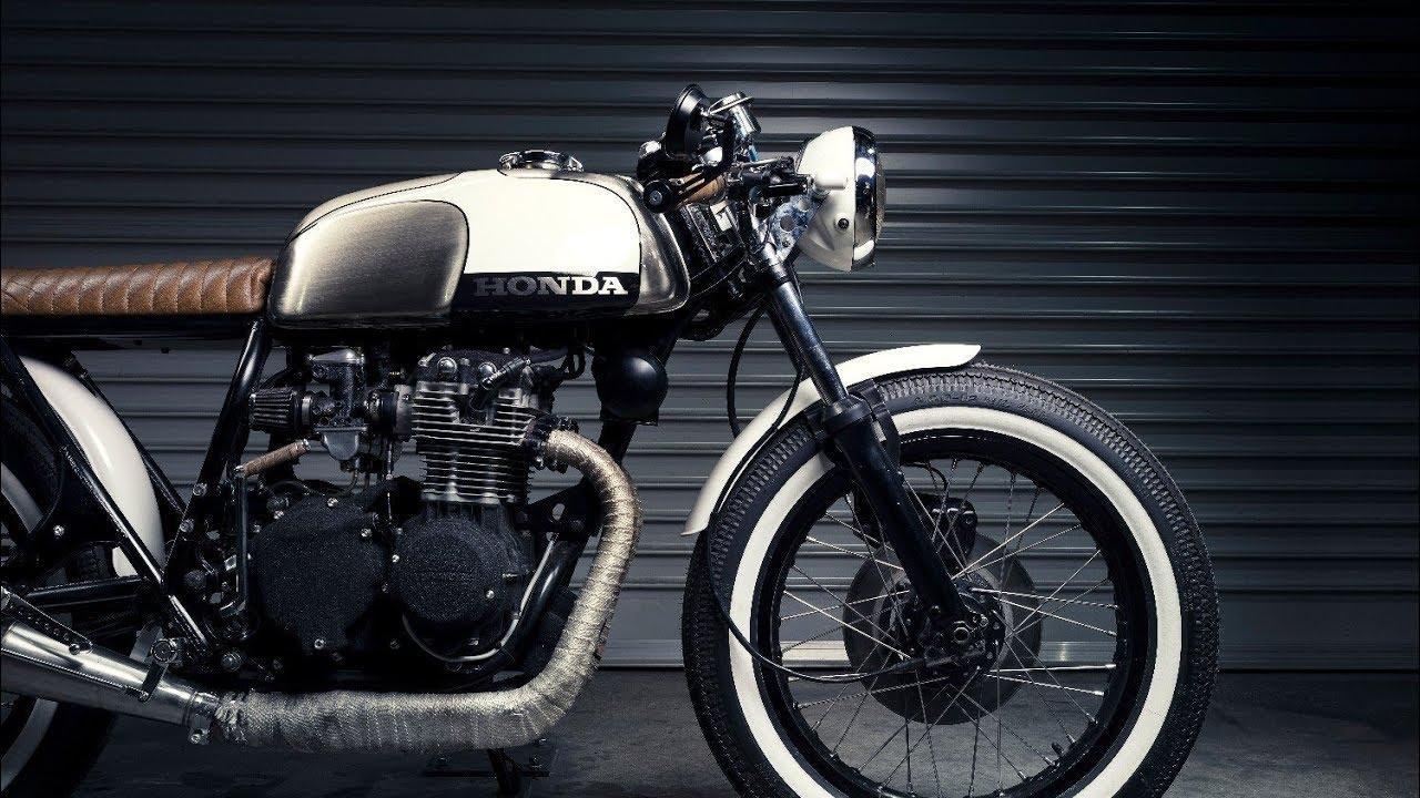 画像: Custom Honda CB350 by Purpose Built Moto youtu.be