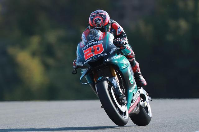 画像: ヤマハYZR-M1に乗り、ポールポジションを獲得したF.クアルタラロ。なお写真は、初日のものです。 race.yamaha-motor.co.jp