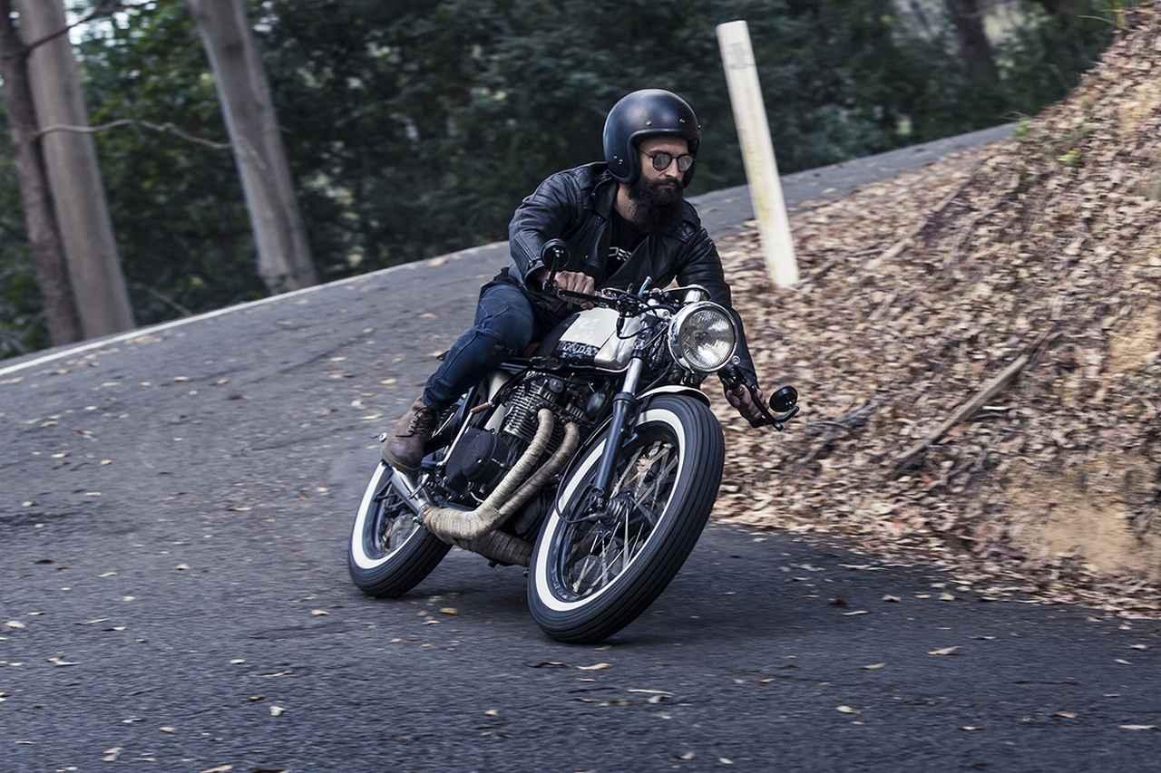 画像: ゴールドコーストでぶっ飛ばしたいカスタム オーストラリアのカスタムビルダー Purpose Built MotoのCB350