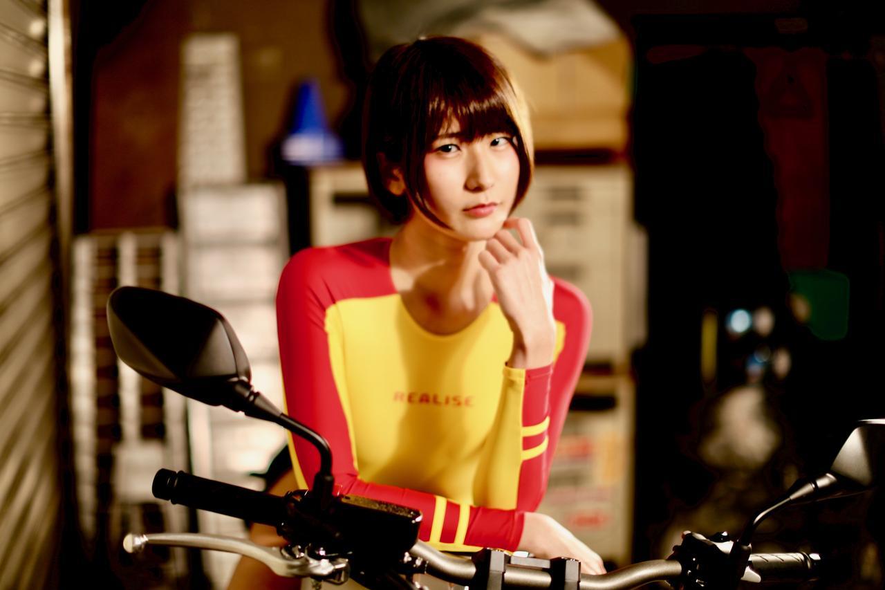画像1: 【Beauty & Bike】うさことCB650R Vol.01