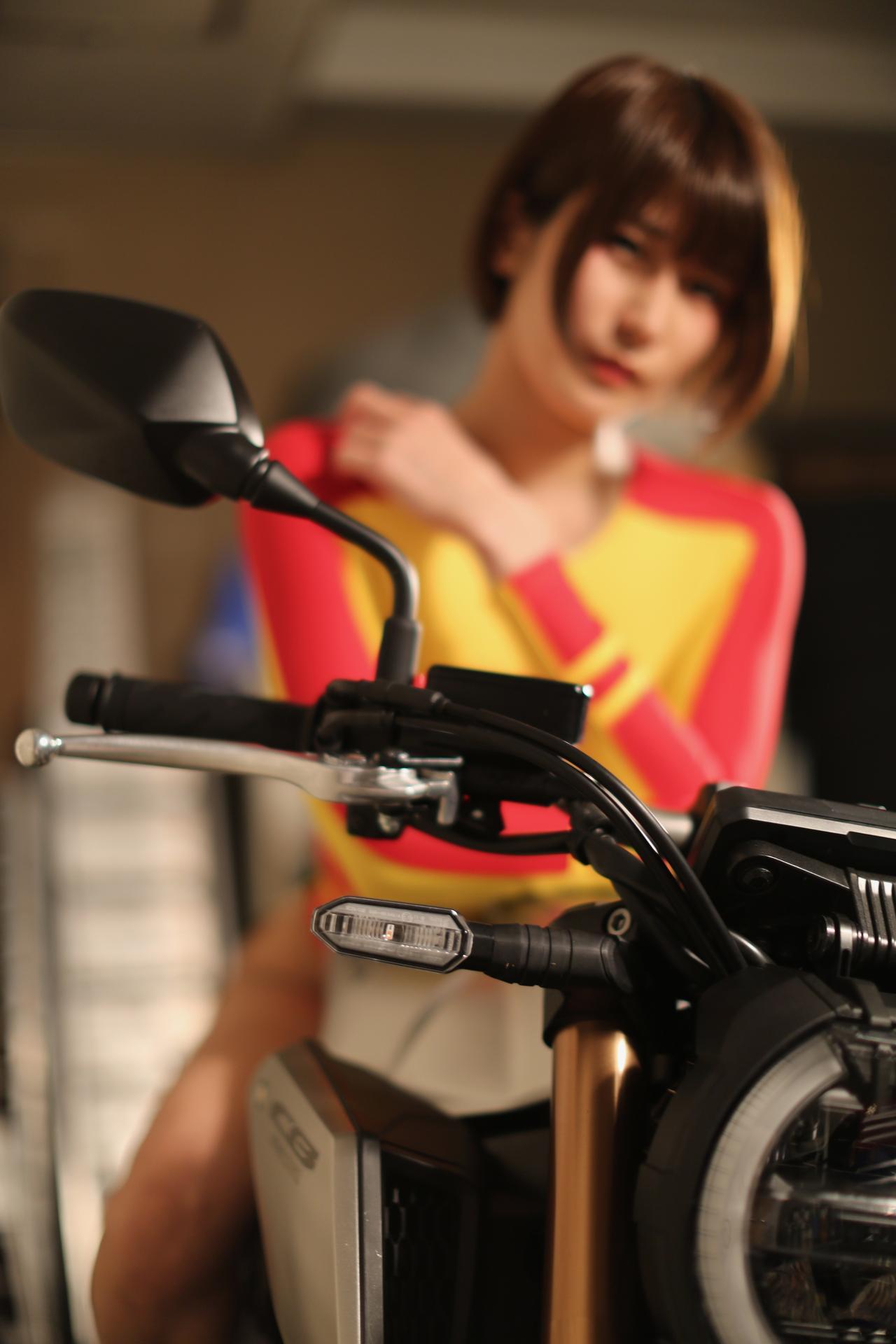 Images : 5番目の画像 - 「【Beauty & Bike】うさことCB650R Vol.01」のアルバム - LAWRENCE - Motorcycle x Cars + α = Your Life.