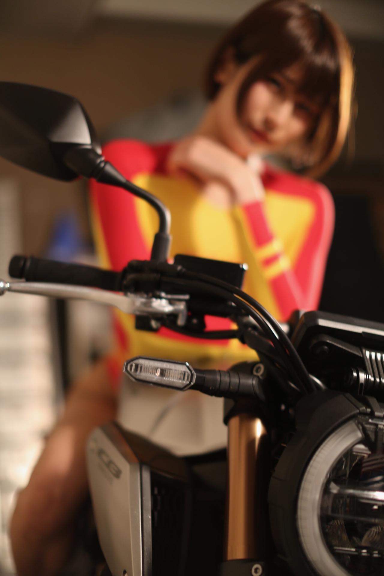Images : 1番目の画像 - 「【Beauty & Bike】うさことCB650R Vol.01」のアルバム - LAWRENCE - Motorcycle x Cars + α = Your Life.