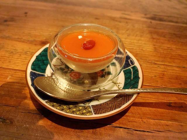画像: 最後のデザートはマンゴープリン