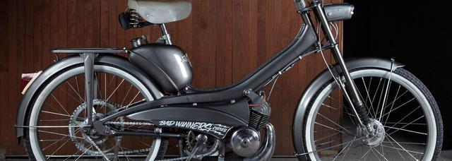 画像: フランスのカスタムビルダー Bad Winnersのクラシックカスタムがまたおしゃれ - LAWRENCE - Motorcycle x Cars + α = Your Life.