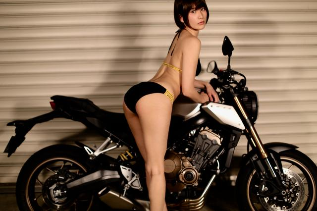 画像4: 【Beauty & Bike】うさことCB650R Vol.06