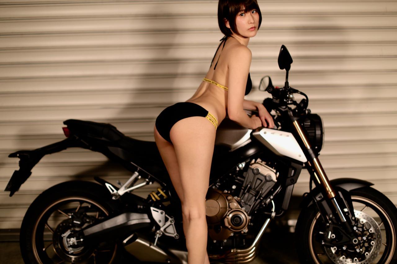 画像4: 【Beauty & Bike】うさことCB650R Vol.06