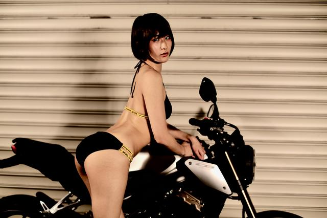 画像3: 【Beauty & Bike】うさことCB650R Vol.05