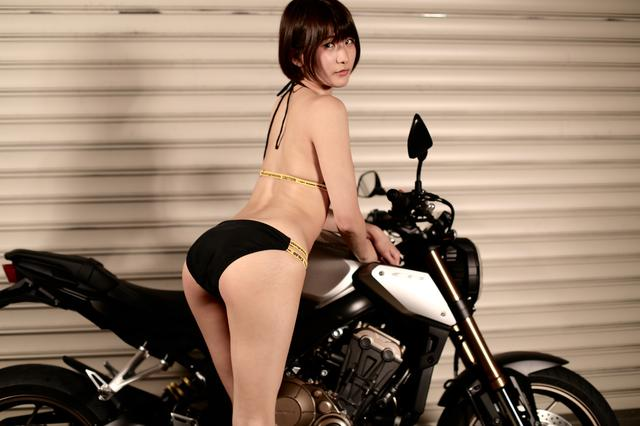 画像2: 【Beauty & Bike】うさことCB650R Vol.05