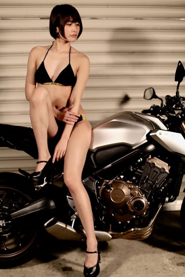 画像4: 【Beauty & Bike】うさことCB650R Vol.07