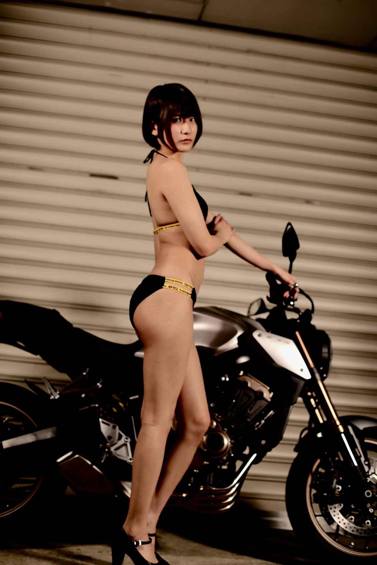 画像1: 【Beauty & Bike】うさことCB650R Vol.09