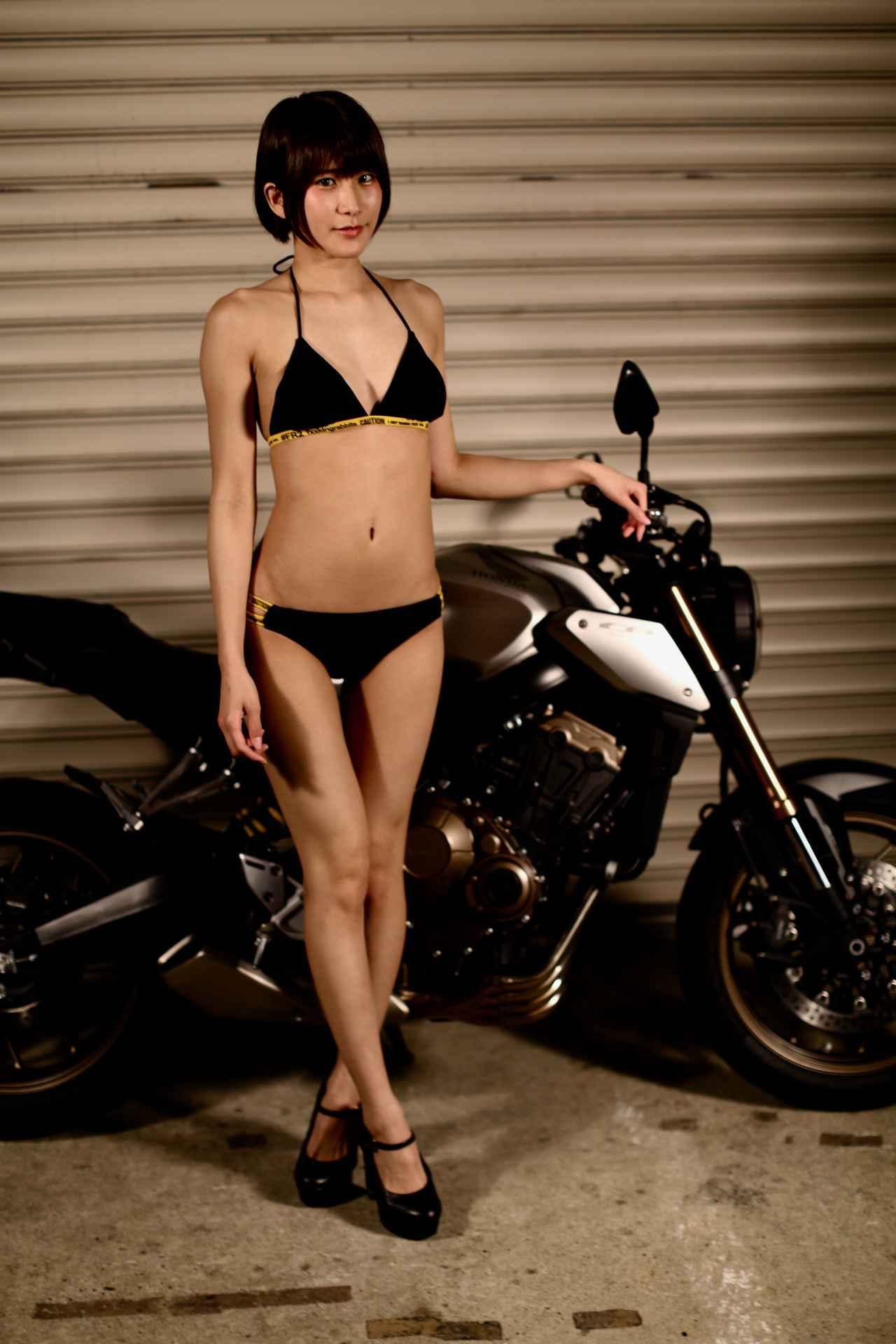 画像2: 【Beauty & Bike】うさことCB650R Vol.10