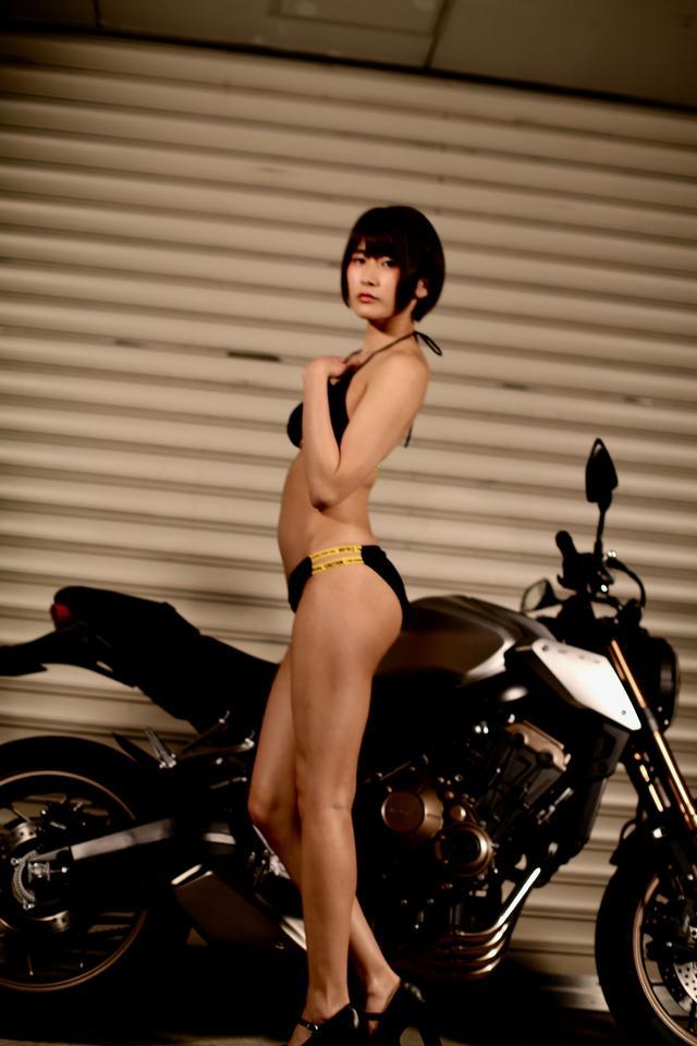 画像2: 【Beauty & Bike】うさことCB650R Vol.08