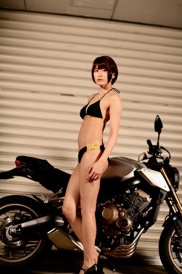 画像1: 【Beauty & Bike】うさことCB650R Vol.08