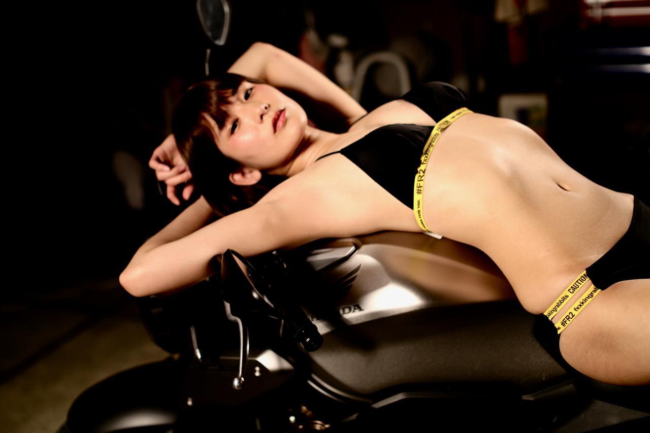 画像2: 【Beauty & Bike】うさことCB650R Vol.12