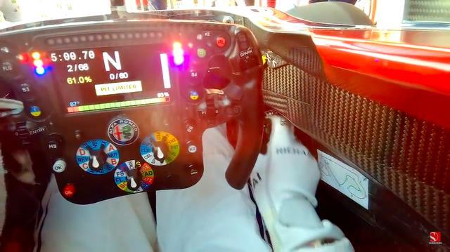 画像: ピットアウトして、1周してピットイン・・・。短い間ですが、いろいろ濃密な動画と言えるかも? www.youtube.com