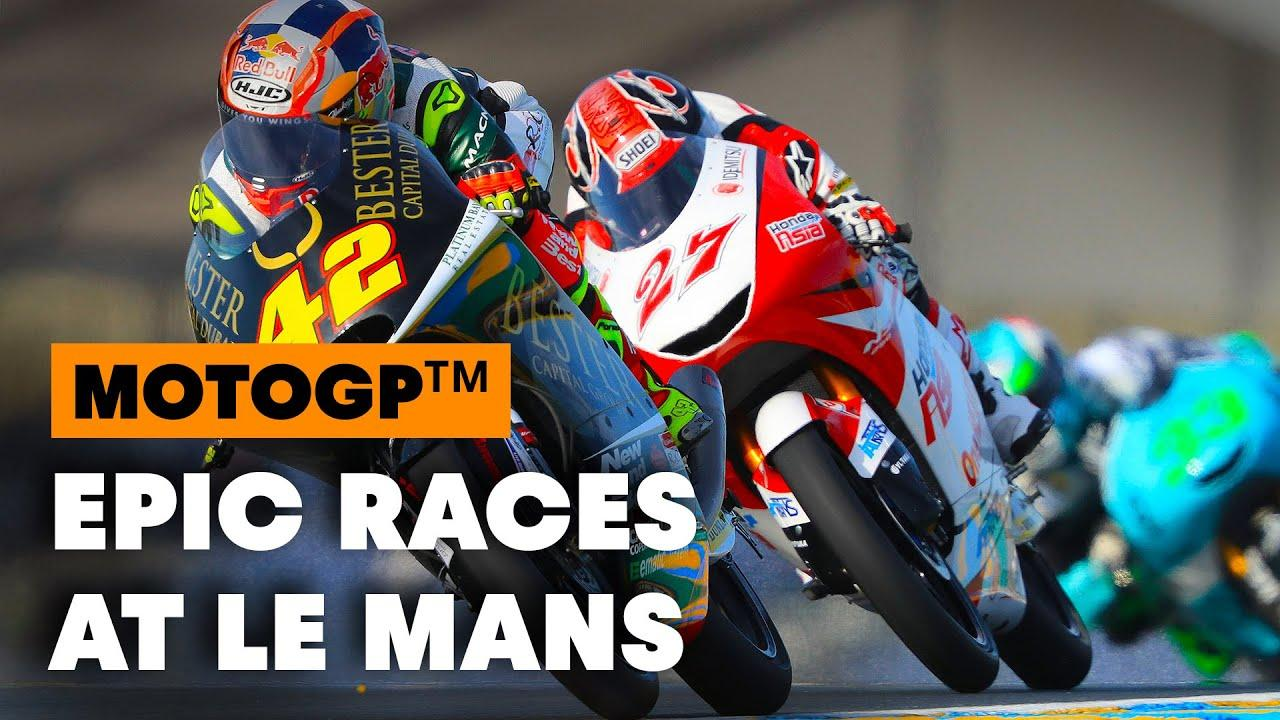 画像: 3 Iconic Moments From The History Of The French Grand Prix   MotoGP youtu.be